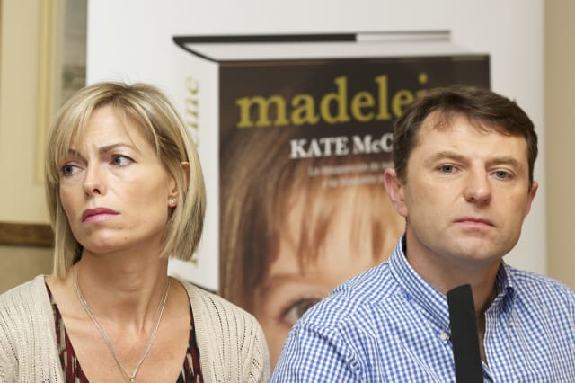 Kate and Gerry McCann Launch Their Book 'Madeleine' in Madrid