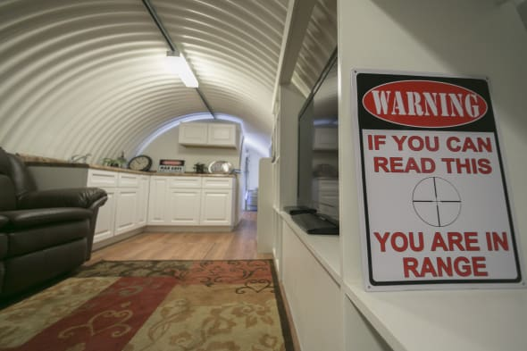 Luxury doomsday Bunkers