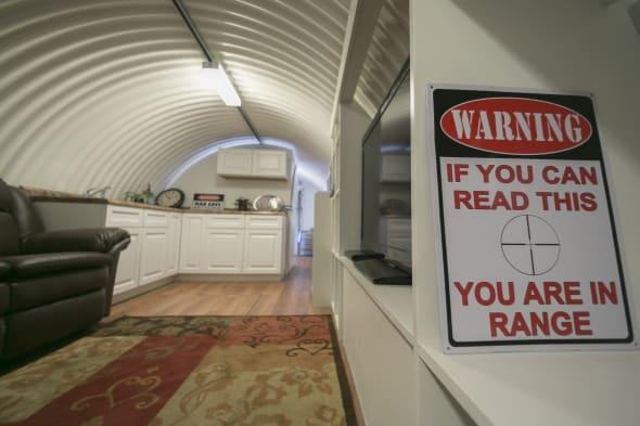 Luxury doomsday Bunkers
