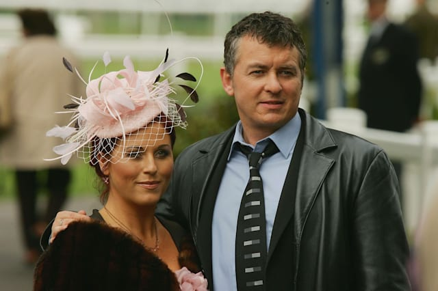 Kat and Alfie Moon BBC TV's Eastenders