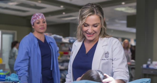 GREY'S ANATOMY on ABC - Thursday, September 15, 2016
