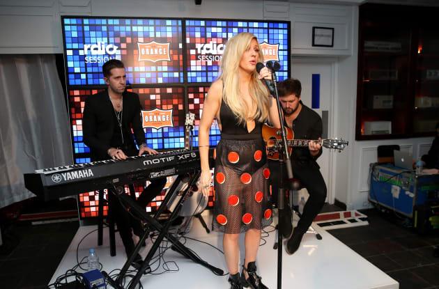 RDIO & TIFF Present Ellie Goulding At RDIO House On King Street - 2014 Toronto International Film Festival