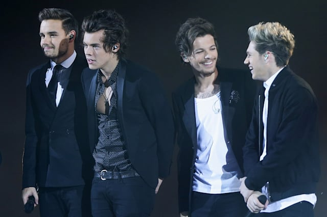 Liam Payne, Harry Styles, Louis Tomlinson and  Niall Horan of One Direction