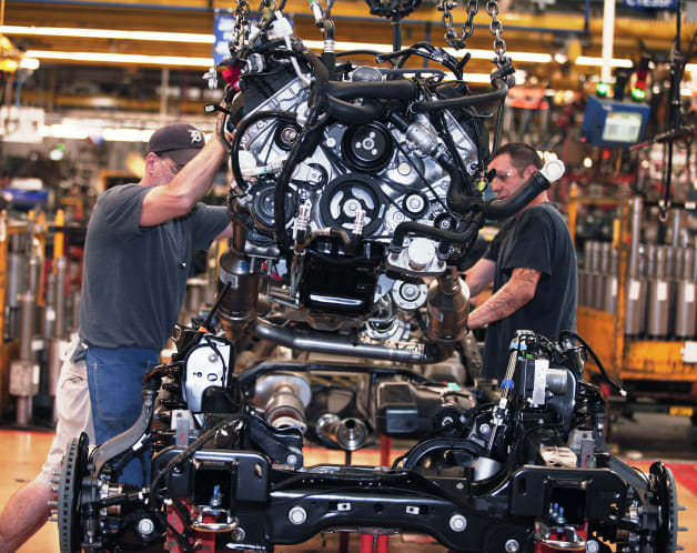 Ford Increasing Production At Dearborn Truck Plant