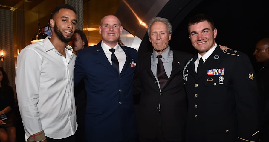 Anthony Sadler and Spencer Stone, Clint Eastwood, Alek Skarlatos