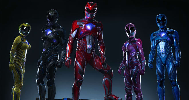 New POWER RANGERS Image Show The Heroes in Costume!