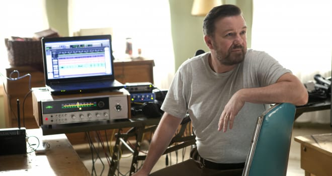 "Ricky Gervais in Netflix's ""Special Correspondents"""