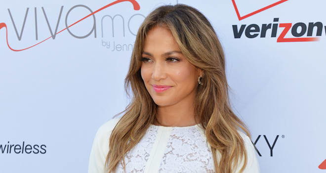 Jennifer Lopez at the Viva Movil by Jennifer Lopez Flagship Store Opening in New York City on July 26, 2013