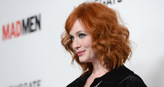Christina Hendricks at the Premiere of 'Mad Men' Season 6