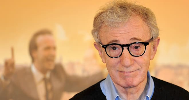 Woody Allen at the 'To Rome With Love' Photocall in Rome on April 13, 2012