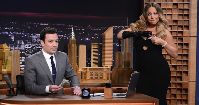 470013507 Jimmy Fallons Tonight Show Debuts With a Cavalcade of Cameos (VIDEO)