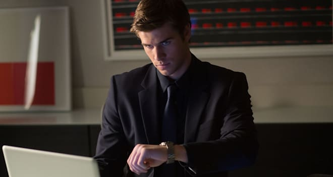 Liam Hemsworth in Paranoia