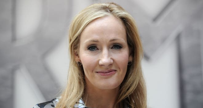 J.K. Rowling in London on June 23, 2011