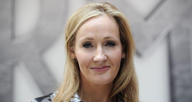 J.K. Rowling in London on June 23, 2011