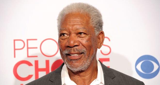Morgan Freeman at the 2012 People's Choice Awards