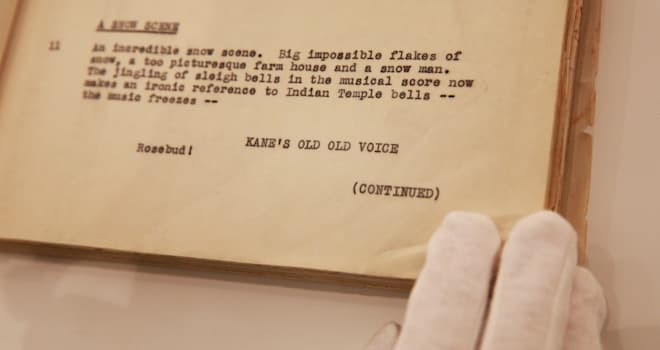 475263153 Orson Welless Citizen Kane Script Could Be Yours for Just $30K