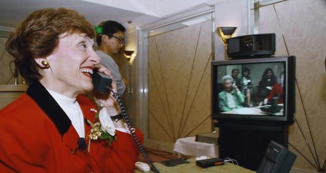 Joan Mondale Japan 1993