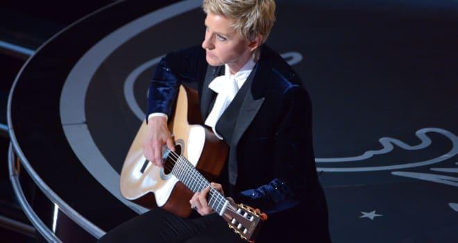 ellen degeneres guitar