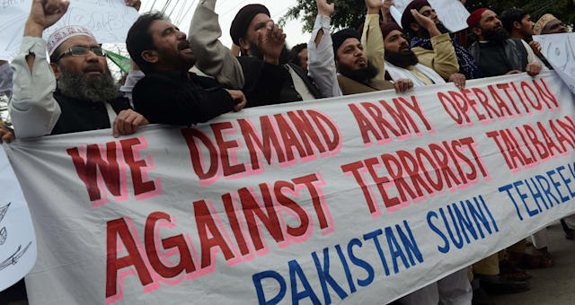 PAKISTAN-UNREST-NORTHWEST-PROTEST