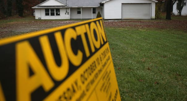 foreclosures third quarter homes housing market