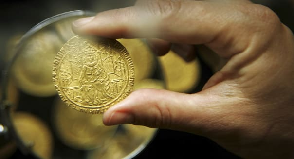 Rare Gold Coin Collection Goes Under The Hammer