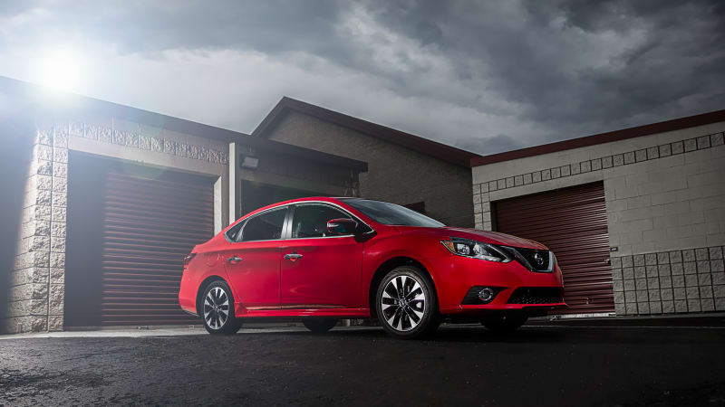 nissan sentra sr gets a turbo version with a 22 825 price autoblog. Black Bedroom Furniture Sets. Home Design Ideas