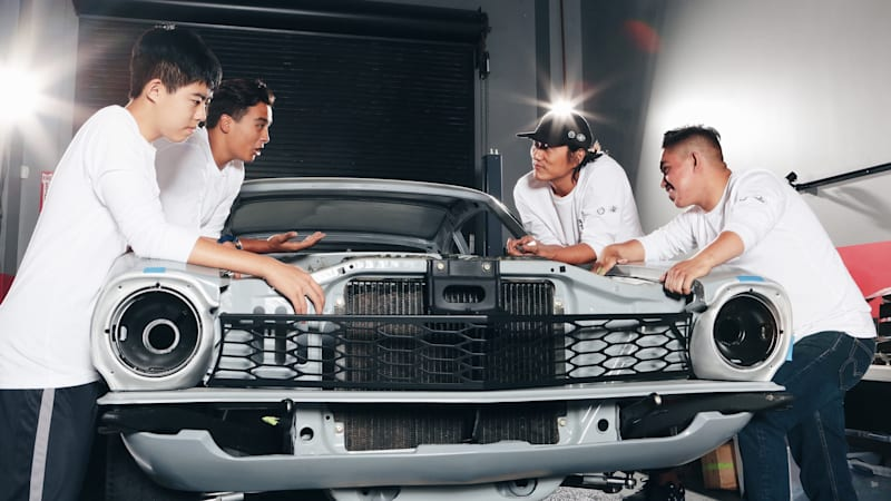 How Sung Kang and a Ford Maverick are changing the lives of three high school students