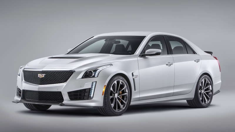 2016 Cadillac CTS-V arrives with 640 hp, 200-mph top speed