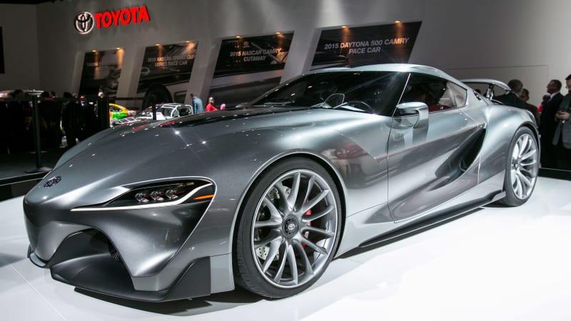 Toyota Ft 1 Engine >> New Toyota Supra may get a twin-turbo Lexus V6 - Autoblog
