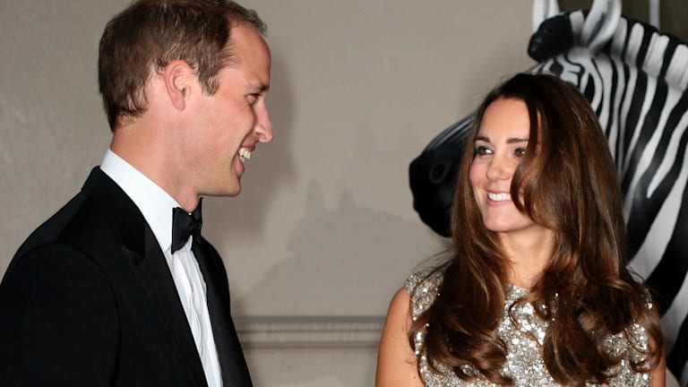The Duchess glitters in Jenny Packham at her first formal engagement