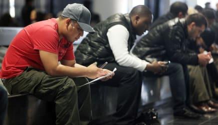weekly jobless claims job fair unemployment layoffs