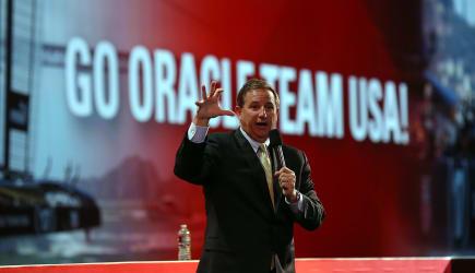 Oracle President Mark Hurd Speaks At Oracle Open World
