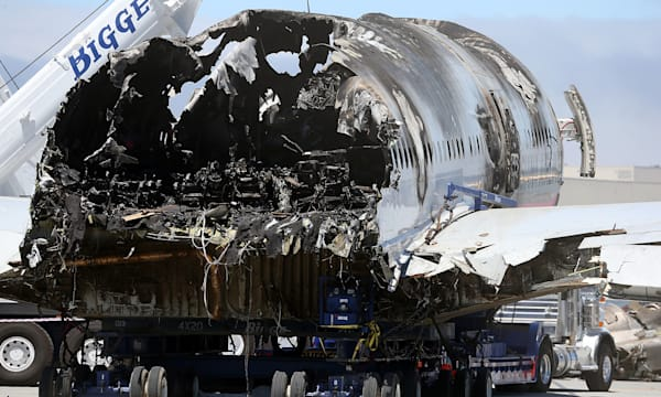 Asiana Flight 214 Moved From Crash Scene
