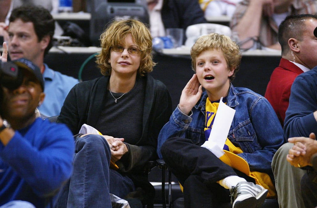 Celebs At Lakers vs. Blazers Game