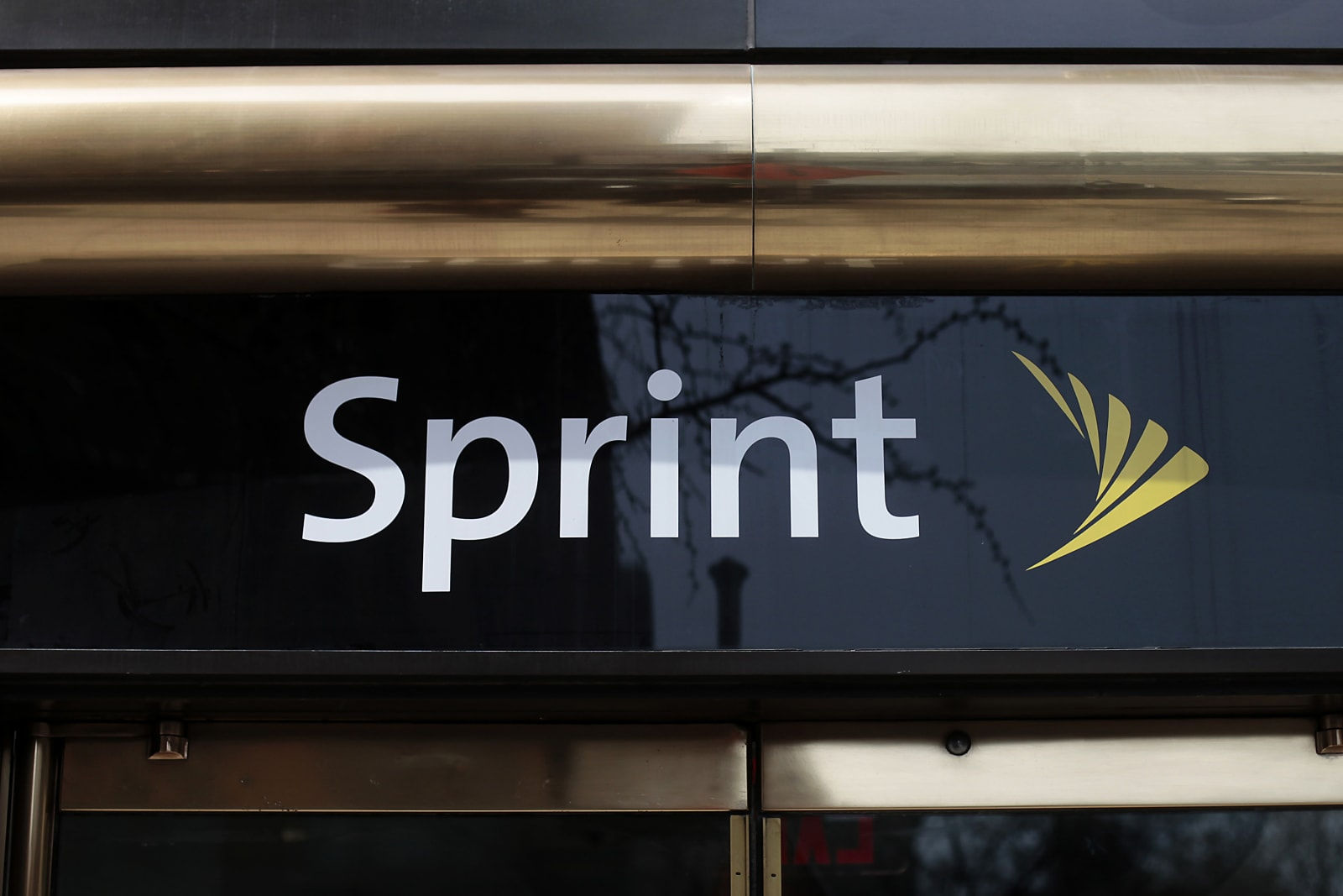 sprint-nextel-corp-signage-is-displayed-