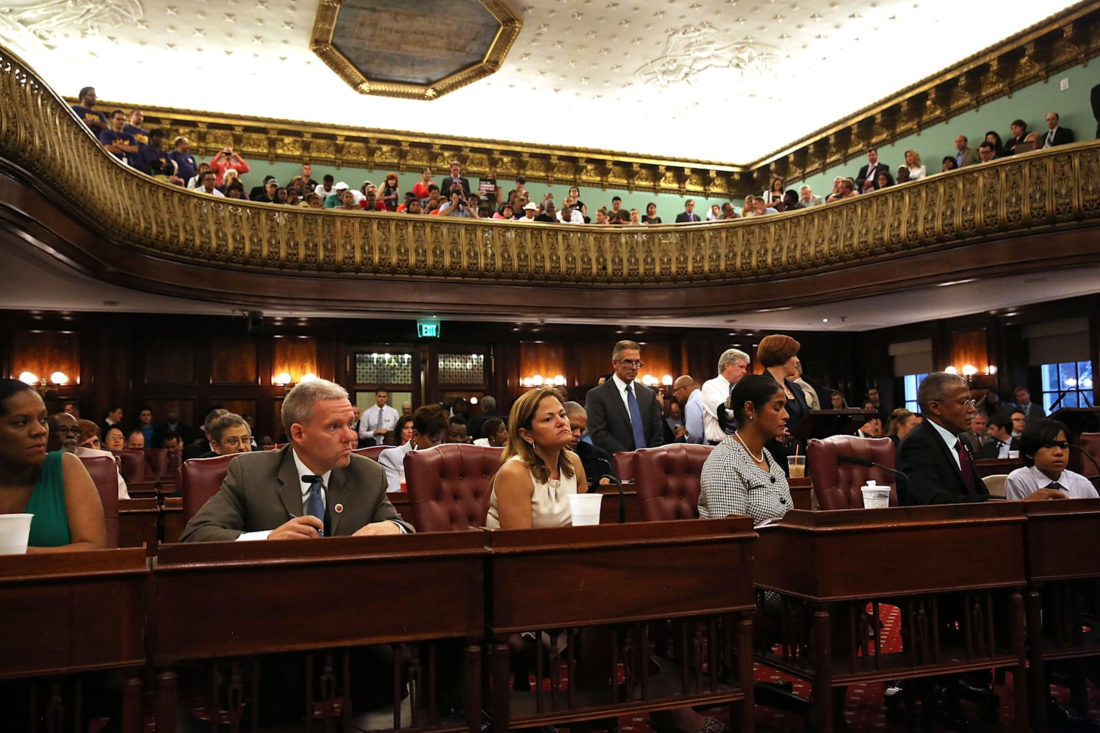 NY City Council Votes On NYPD Oversight
