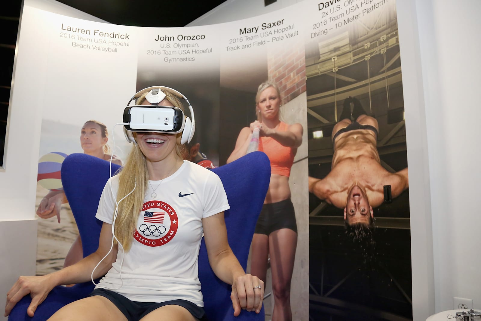 Samsung At The Team USA Road To Rio Tour Stop In Philadelphia