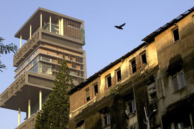 Antilla, Mukesh Ambani's New Property In Mumbai