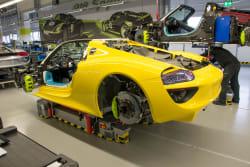 Porsche 918 Spyder assembly