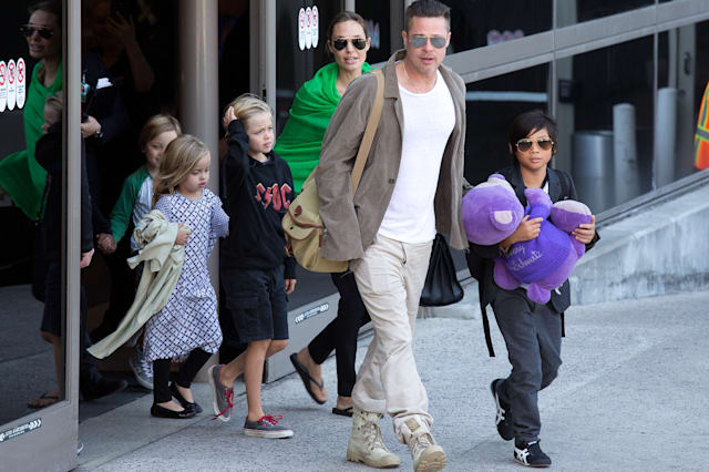 Brad Pitt is model father says Angelina Jolie