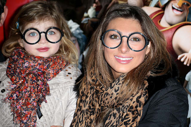Luisa Zissman and her daughter