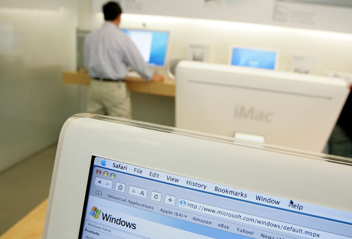 Apple Unveils Software To Run Windows XP