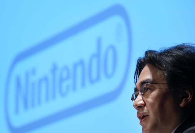 Nintendo Co. President Satoru Iwata Attends Business Strategy Briefing