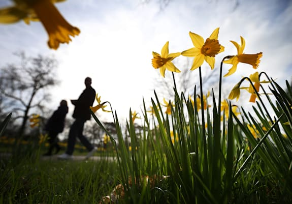 Spring Weather Arrives In The UK