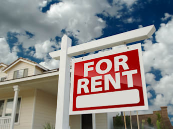 left facing red for rent real...