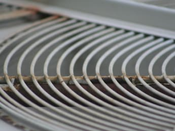 HVAC fan cover at Safety Harbor Public Library