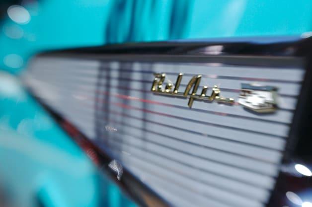 57 Chevy Fin Detail