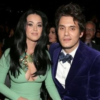 <p>	Katy Perry and John Mayer</p>