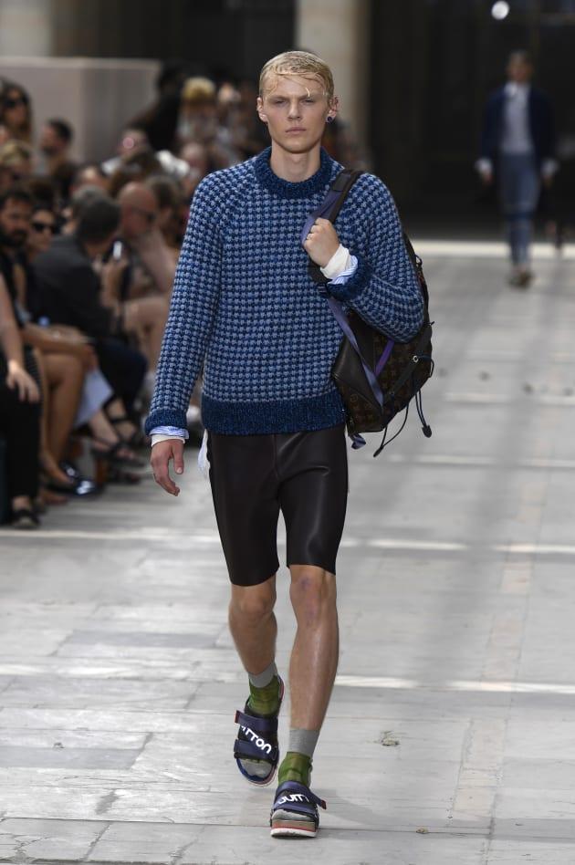 Claquette Chaussette Fashion Week