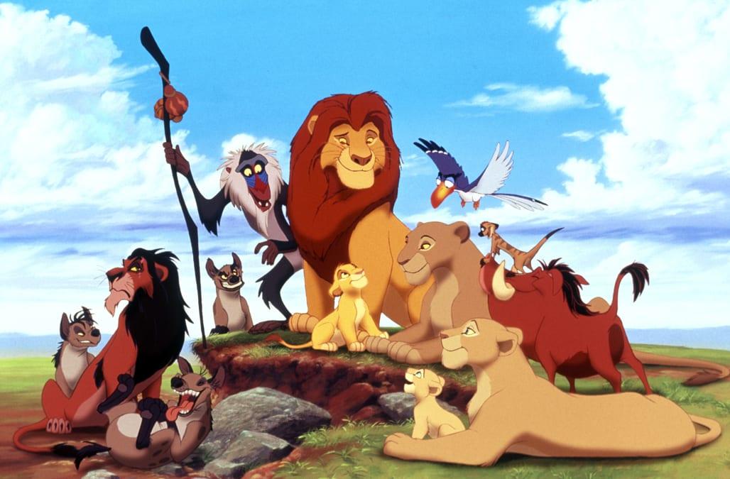 ED SHENZI BANZAI SCAR MAFUSA SIMBA TIMON & PUMBAA THE LION KING (1994)